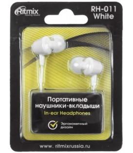 Наушники Ritmix RH-011 белые