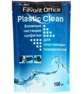 Сменный блок для тубы Plastic Clean 100 шт.