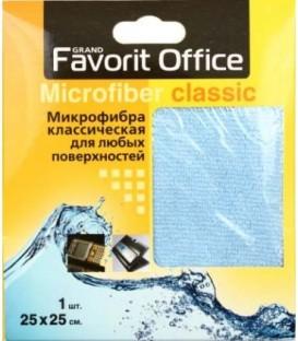 Салфетка из микрофибры для любых поверхностей Favorit Office 25*25 см