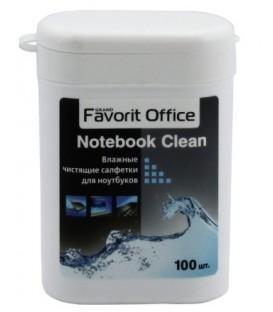 Салфетки чистящие для ноутбуков Favorit Office 100 шт., Noteebook Clean