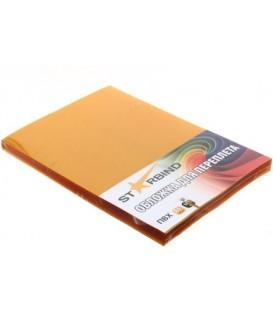 Обложки для переплета пластиковые Starbind А4, 100 шт., толщина пластика 200 мкм, прозрачно-желтые