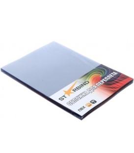 Обложки для переплета пластиковые Starbind А4, 100 шт., толщина пластика 150 мкм, прозрачные