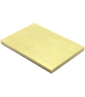 Обложки для переплета пластиковые O.Clear А4, 100 шт., толщина 200 мкм, желтые прозрачные