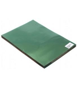 Обложки для переплета пластиковые O.Clear А4, 100 шт., толщина 150 мкм, зеленые прозрачные