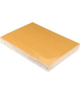 Обложки для переплета картонные А4, 100 шт., 230 г/м2, рыжие