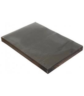 Обложки для переплета картонные А3, 100 шт., 230 г/м2, черные