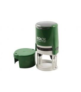Автоматическая оснастка Colop PR40 в боксе для клише печатидиаметр 248-40 мм, корпус зеленый
