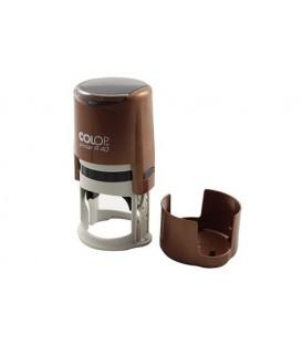 Автоматическая оснастка Colop PR40 в боксе для клише печатидиаметр 248-40 мм, корпус бронзового цвета