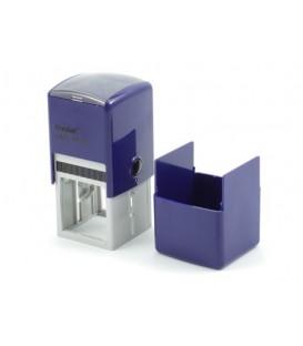 Автоматическая оснастка Trodat 4924 в боксе для клише печати/штампа 40*40 мм, корпус темно-синий