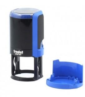 Автоматическая оснастка Trodat 4642 для клише печатидиаметр 248-42 мм, корпус синий
