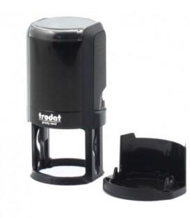 Автоматическая оснастка Trodat 4642 для клише печатидиаметр 248-42 мм, корпус черный