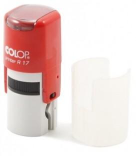 Автоматическая оснастка Colop PR17 в боксе для клише печатидиаметр 248-17 мм, корпус красный