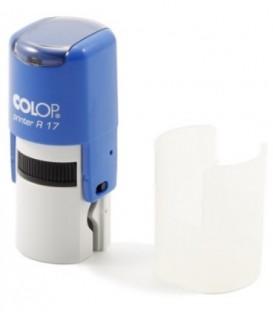 Автоматическая оснастка Colop PR17 в боксе для клише печатидиаметр 248-17 мм, корпус синий