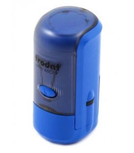 Автоматическая оснастка Trodat 46019 в боксе для клише печатидиаметр 248-19 мм, корпус синий