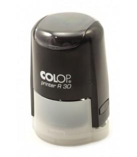 Автоматическая оснастка Colop PR30 в боксе для клише печатидиаметр 248-30 мм, корпус черный