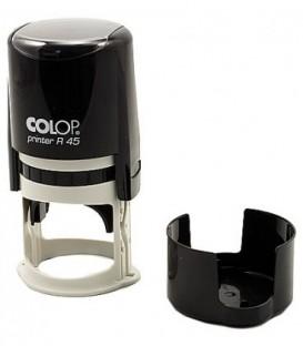 Автоматическая оснастка Colop PR45 в боксе для клише печатидиаметр 248-45 мм, корпус черный