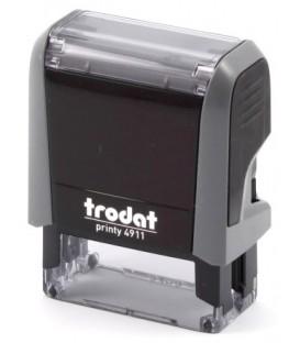 Автоматическая оснастка Trodat 4911 для клише штампа 38*14 мм, корпус серый