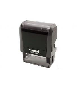 Автоматическая оснастка Trodat 4912 для клише штампа 47*18 мм, корпус серый