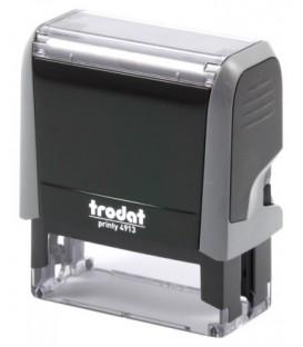Автоматическая оснастка Trodat 4913 для клише штампа 58*22 мм, корпус серый