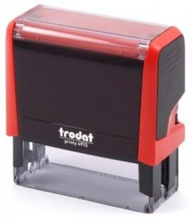 Автоматическая оснастка Trodat 4915 для клише штампа 70*25 мм, корпус красный