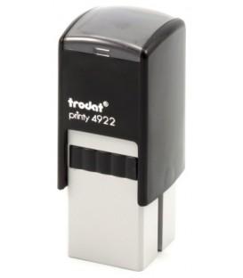 Автоматическая оснастка Trodat 4922 для клише штампа 20*20 мм, корпус черный