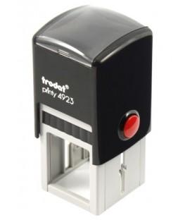 Автоматическая оснастка Trodat 4923 для клише штампа 30*30 мм, корпус черный
