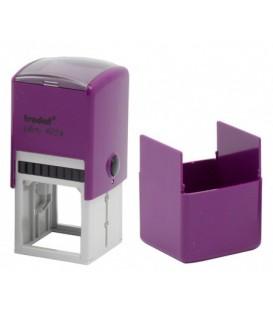 Автоматическая оснастка Trodat 4924 для клише штампа 40*40 мм, корпус лиловый
