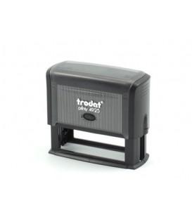 Автоматическая оснастка Trodat 4925 для клише штампа 81*24 мм, корпус черный