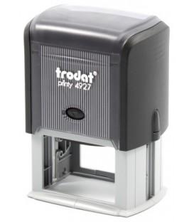 Автоматическая оснастка Trodat 4927 для клише штампа 60*40 мм, корпус черный