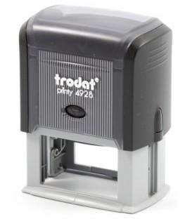 Автоматическая оснастка Trodat 4928 для клише штампа 60*33 мм, корпус черный
