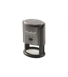 Автоматическая оснастка Trodat 44045 для овальных штампов для клише штампа 45*30 мм, корпус черный