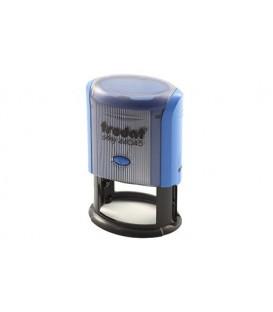 Автоматическая оснастка Trodat 44045 для овальных штампов для клише штампа 45*30 мм, корпус синий