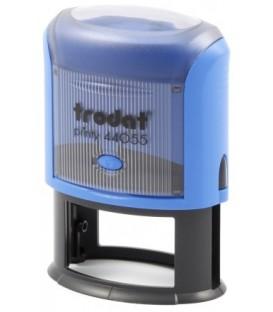 Автоматическая оснастка Trodat 44055 для овальных штампов для клише штампа 55*35 мм, корпус синий