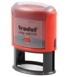 Автоматическая оснастка Trodat 44055 для овальных штампов для клише штампа 55*35 мм, корпус красный