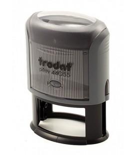 Автоматическая оснастка Trodat 44055 для овальных штампов для клише штампа 55*35 мм, корпус серый