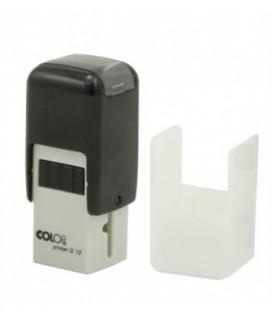 Автоматическая оснастка Colop Q12 для квадратных штампов для клише штампа 12*12 мм, корпус черный