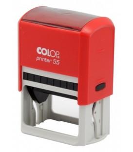 Автоматическая оснастка Colop P55 для клише штампа 60*40 мм, корпус красный