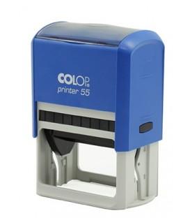 Автоматическая оснастка Colop P55 для клише штампа 60*40 мм, корпус синий