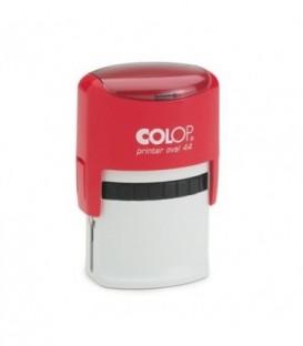 Автоматическая оснастка Colop Oval 44 для овальных штампов для клише штампа 28*44 мм, корпус красный