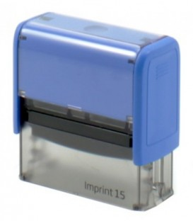 Автоматическая оснастка Imprint для штампов для клише штампа 70*25 мм, марка IMPRINT 15 (2.0, 8915), корпус синий