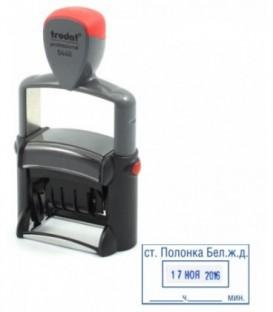 Датер со свободным текстовым полем Trodat Professional Line 5440 размер оттиска штампа 49*28 мм