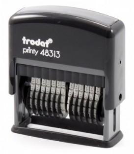 Нумератор полуавтоматический Trodat 48313 тип 48313, 13 разрядов, высота шрифта 3,8 мм