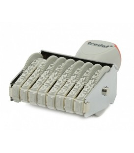 Нумератор ленточный Trodat тип 1558, 8 разрядов, высота шрифта 5 мм