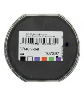 Подушка штемпельная сменная Colop для печатей тип E/R40 для оснасток: R40, R40-Dater, фиолетовая