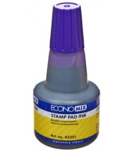 Краска штемпельная Economix 30 мл, фиолетовая