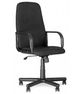 Кресло офисное Diplomat для руководителей обивка - черная ткань, С-11