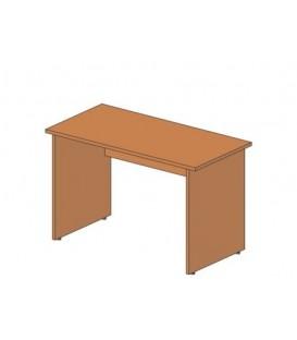 Стол офисный прямой 1200*600*760 мм, прямой, груша