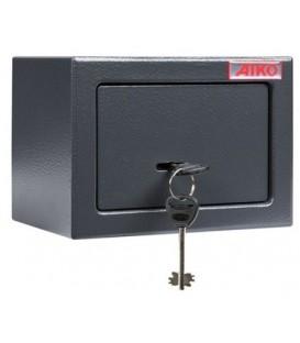 Мебельный сейф Aiko серии Т с ключевым замком T-140-KL: 2,5 л