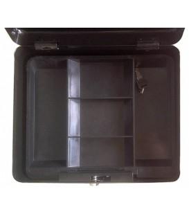 Кэш-бокс (переносной сейф) серии MCC MCCB1-350: 6,4 л, черный