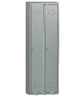 Шкаф для раздевалок серии LS (LE) LS(LE)-21: 2 секции